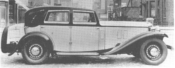 SLIDER: 1933 Stutz with Lancefield Coachwork |